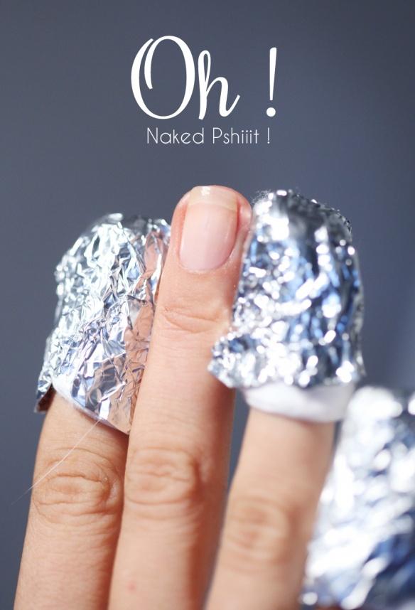 genial...! como remover el esmalte con brillos fácilmente de las uñas..! Glitter