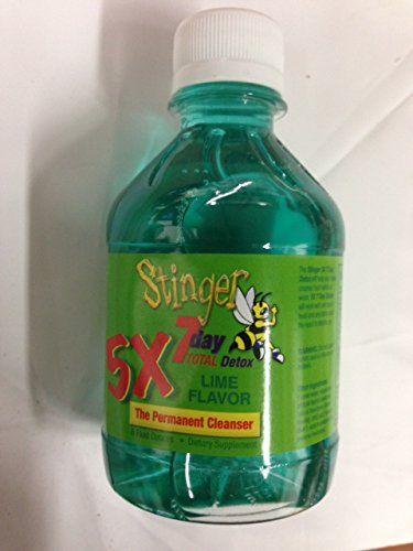 Stinger 7 Day Total Detox 5x Permanent Cleanser Lime Flavor