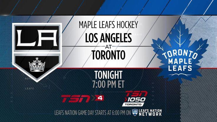 Molson Canadian Leafs Gameday: Los Angeles at Toronto - October 23, 2017