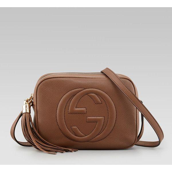 b5b30dc07693e4 Gucci Soho Leather Disco Bag, Brown ($895) -dream bag | Bags | Gucci soho  bag, Soho disco bag, Gucci disco