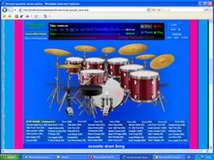 virtual acoustic drum