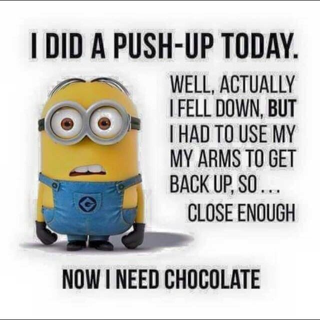 Push up minion style
