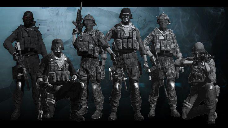 COD Ghost Team (1920×1080)