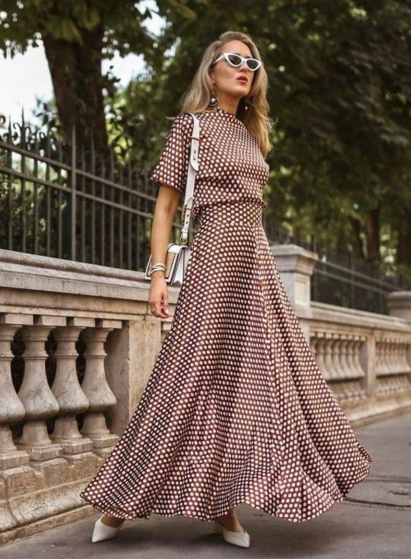7d4123ef804 Изумительные платья весна-лето 2019  модные тренды и тенденции ...
