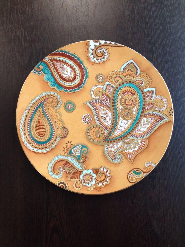 Tabak# benim tasarımım# gold# rölyef#
