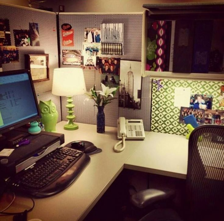 Home Office Decorating Ideas For Comfortable Workplace: 34 Awesome Cubicle Workspace To Make Your Work More Better