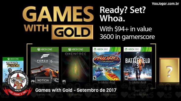 Corridas, terror e guerra compõe a lista de jogos gratuitos para os assinantes da Live Gold no mês de Setembro.  #GamesWithGold #XboxOne #Xbox360 #VaoJogar #VideoGames #Games #InstaGames