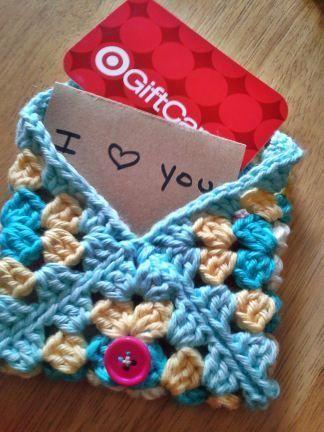 Granny Square Envelope Crochet Ideas Pinterest Crochet
