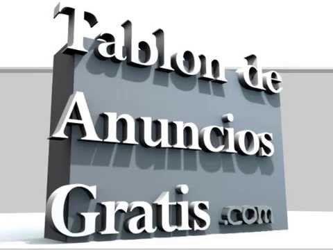 Tablon de anuncios   ¿ Como publicar anuncios de compraventa GRATIS