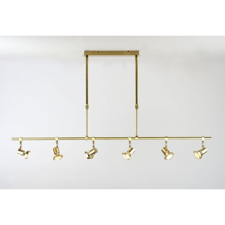 106 best lights images on pinterest lamps blankets and chandeliers this satin brass telescopic ceiling spot light is unusual in that it has 6 heads to give more light and its design allows it to be fixed at installation at mozeypictures Choice Image
