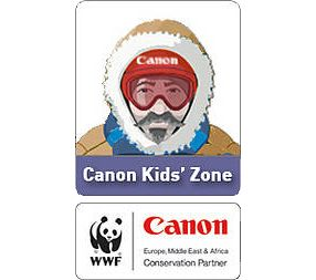 WWF lesson plans designed for the Canon Kid's Zone. #education #children #environment