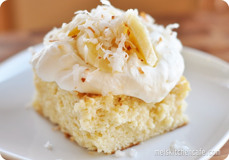 Coconut Tres Leches Cake - Delish!