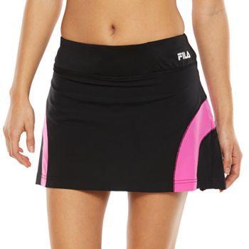 FILA SPORT® Play Light Pleated Drop-Tail Tennis Skort - Women's