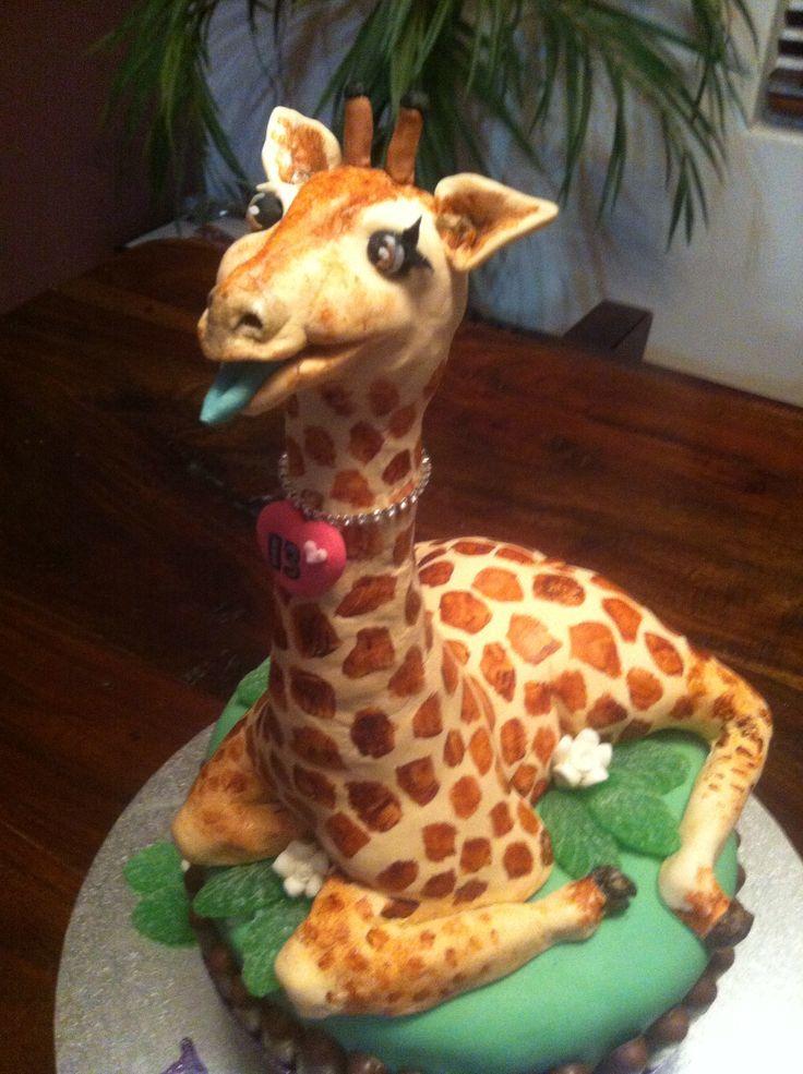 Cake Designs Giraffe : Giraffe cake