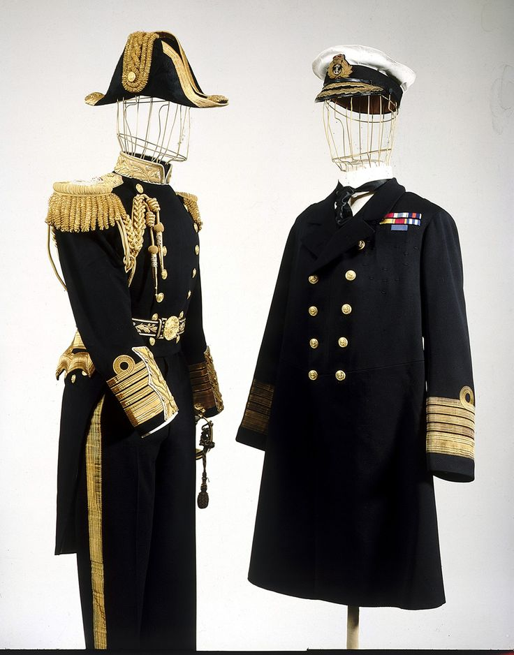 Royal Naval uniform: pattern 1919 - National Maritime Museum