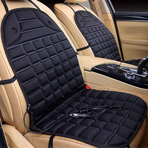 Car Heated Seat Cushion Cover Chair Warmer Pad for Truck w/ Adjustable Temp Tax0 #ELEGIANT