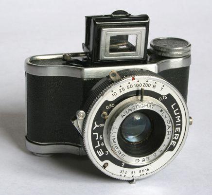 Achat d'appareils photo anciens
