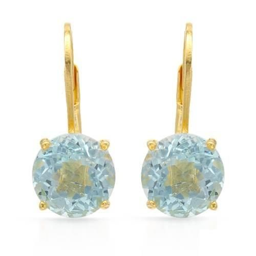Wonderful earrings with topazes crafted in 14K gold plated 925 silver. Total item weight 2.9g. Length 19mm HOTTEST deals at up to 99.9% DISCOUNTS http://www.idealsmarter.com/?refid=31593e9f