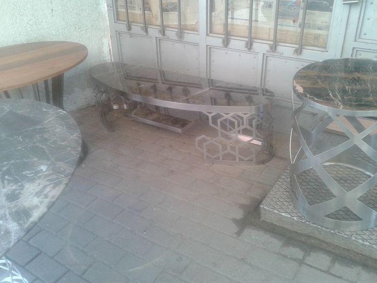 Metal Sehpa Marscona Facebook Coffee Table