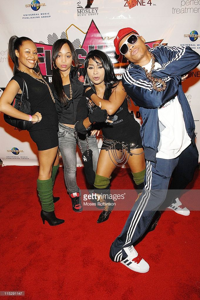 Ronnie DeVoe and his group Blaque arrive at Keri Hilson's flashback birthday party at The View December 8, 2007 in Atlanta, Georgia.