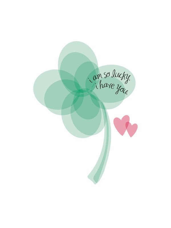Lucky Clover Limited Edition Art Print by Christy   Minted