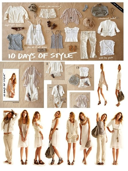 10 Days of Style - Calypso St. Barth - this collection is inspiring to me and I am building my own collection of similar pieces from different designers. the exact pieces in this group are mostly manufactured by CPShades