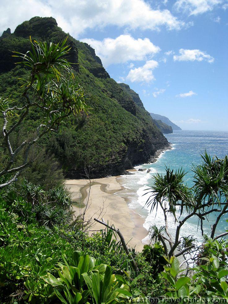 8 best vacation ideas kauai images on pinterest vacation ideas kalalau trail hanakapiai beach na pali coast kauai hawaii solutioingenieria Image collections