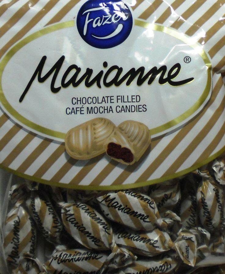 vaikka Marianne karkin ystävä olenkin, tää uutuus ei ollut meillä tykätty :(