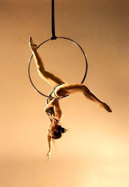 I've added lyra hoop to my aerial arts repertoire!  Still totally addicted to pole but hoop is a nice way to mix it up! :)