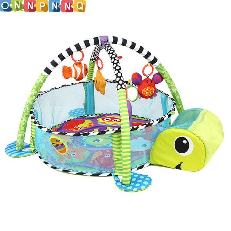 León Juguete Del Bebé Estera Del Juego Del Bebé 0-1 Años de Educación Crawling Mat Jugar Gimnasio Tapete de Juego Infantil de Dibujos Animados Manta Piscina de bolas
