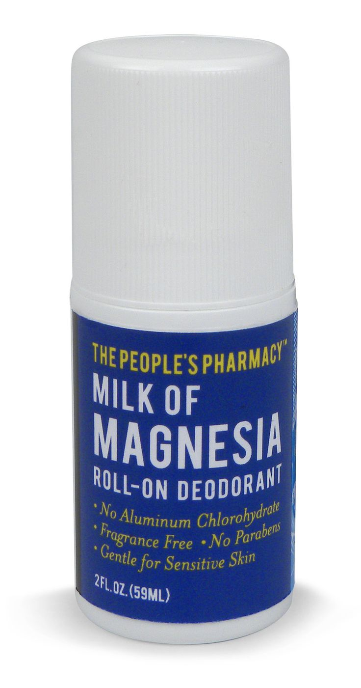 The Green Product Junkie loves the MoM Milk of Magnesia Deodorant from the Peoples Pharmacy. Her homeopathic doctor agreed that it's awesome.