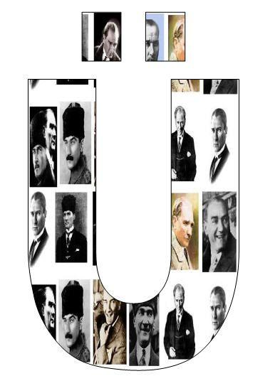 Resimli Atatürk Yazısı