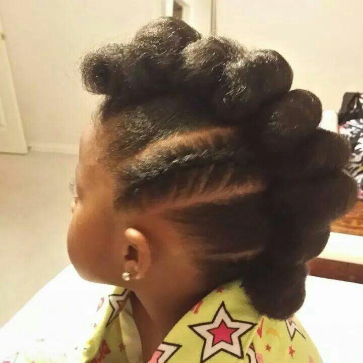 Mohawk Puffs Natural Cutie Natural Hair Hair Styles