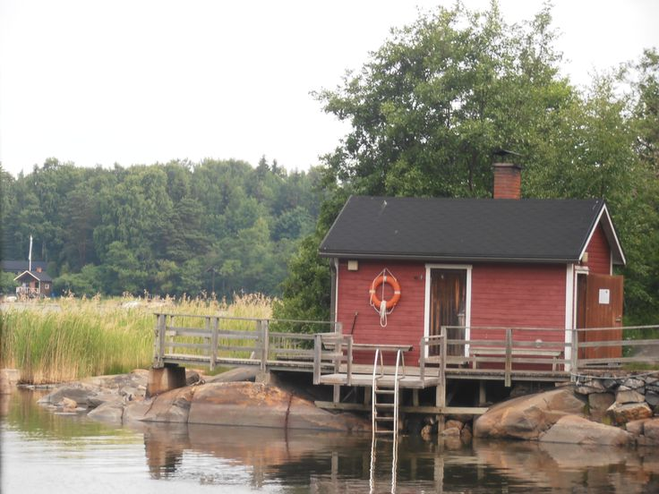 Finland, a saunahouse