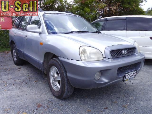 2003 Hyundai Santa Fe Gls for sale | $5,495 | U-Sell | Park & Sell Yard | Used Cars | 797 Te Rapa Rd, Hamilton, New Zealand