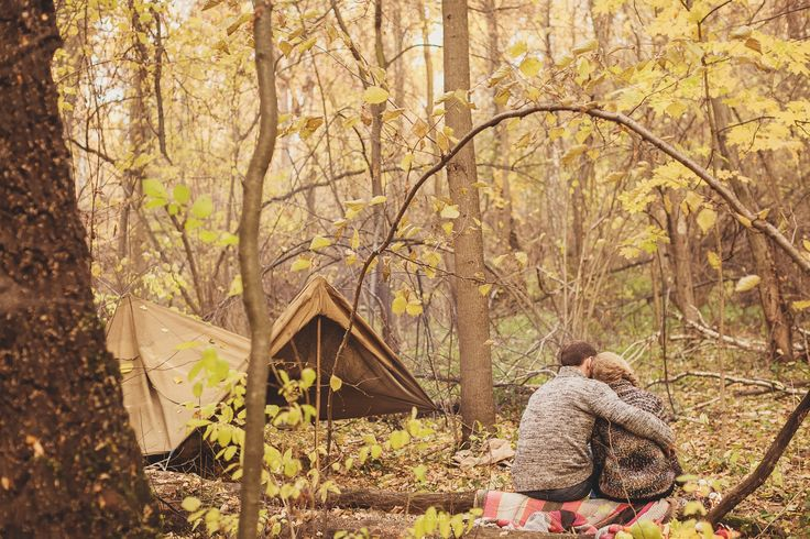 camp, nature, two, love, together
