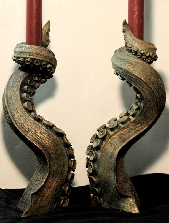 Tentacles candlesticks