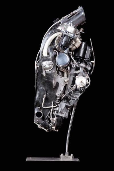 Apocalypse horse - 2011 by Pierre Matter-  Artiste - Sculpteur