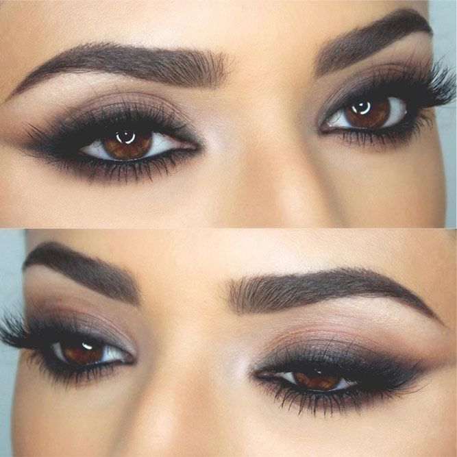 Matte Smokey Prom Makeup Idea #mattesmokey It is time to choose your makeup for …