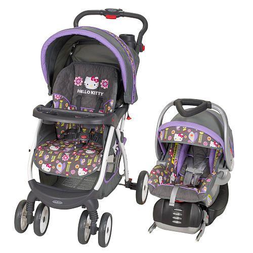 Baby Trend Flower Dance Travel System Stroller Hello