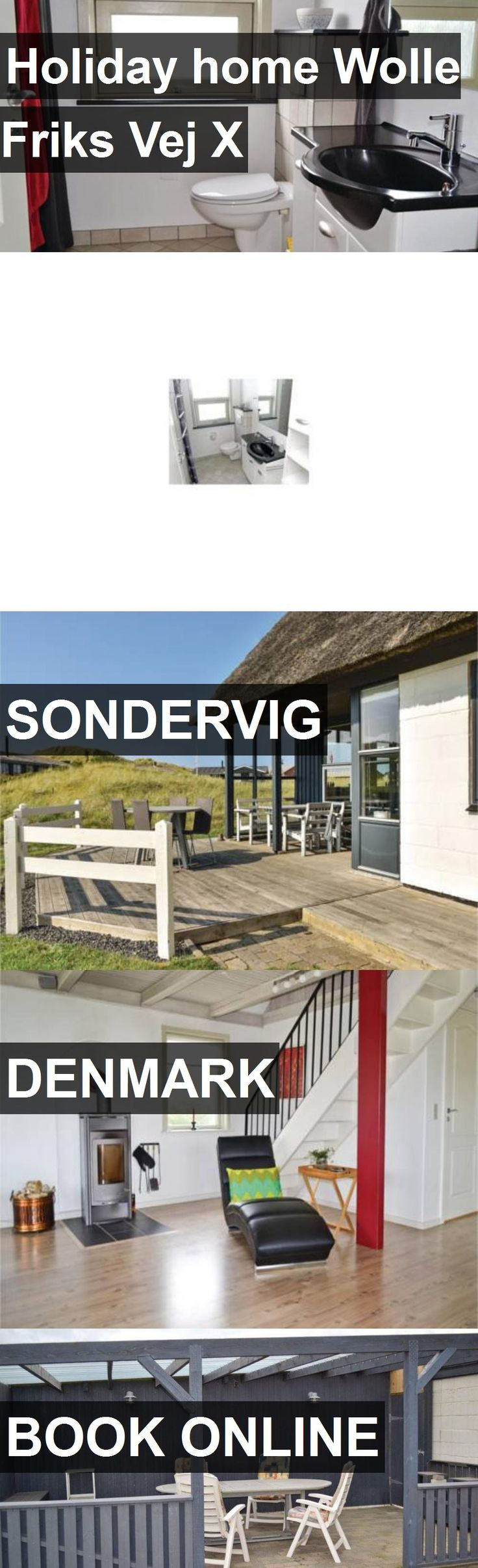 Hotel Holiday home Wolle Friks Vej X in Sondervig, Denmark. For more information, photos, reviews and best prices please follow the link. #Denmark #Sondervig #travel #vacation #hotel
