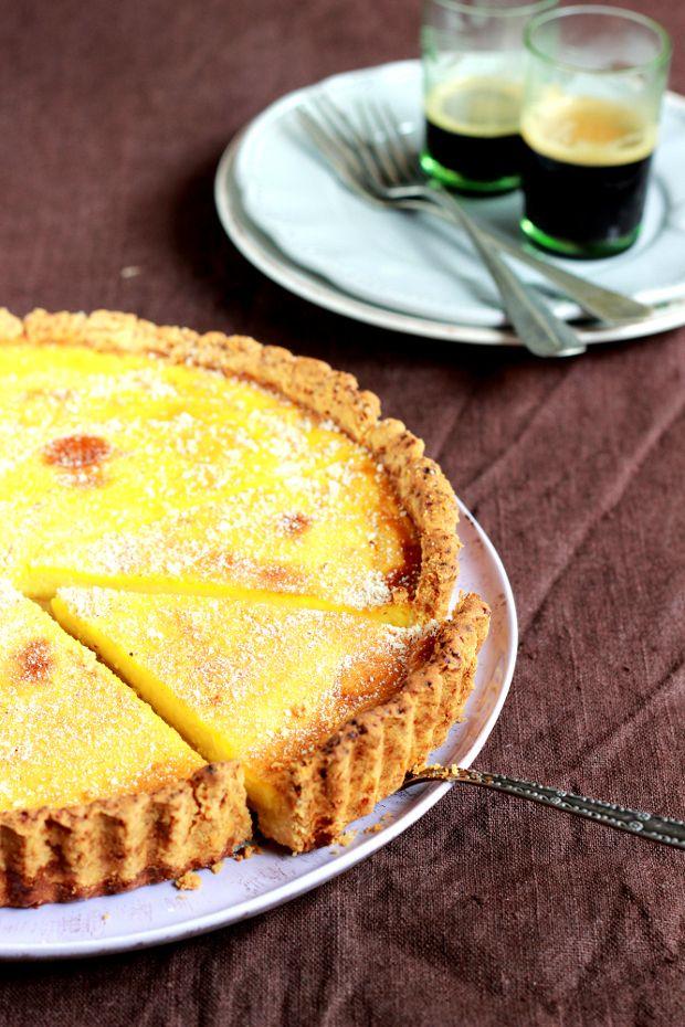 Ванильный кремовый тарт / Vanilla Custard Tart