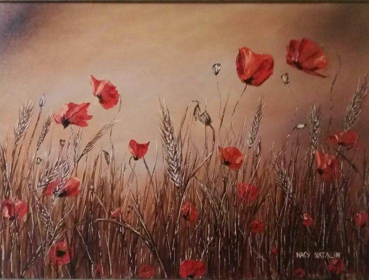 V Szakácsi Éva festménye alapján 50x70 olaj vászon