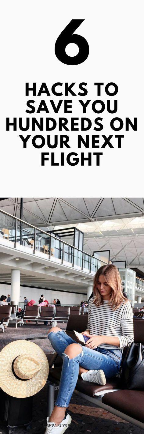6 hacks to save money on yon next flight