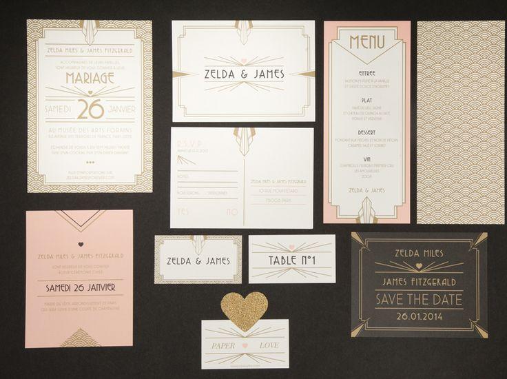 Invitation mariage Mister M Studio http://www.vogue.fr/mariage/adresses/diaporama/ou-trouver-ses-faire-part-de-mariage-a-paris/18707/image/999580#!invitation-mariage-mister-m-studio