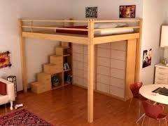 die 25 besten ideen zu hochbett erwachsene auf pinterest. Black Bedroom Furniture Sets. Home Design Ideas