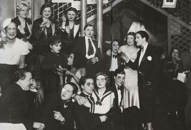 Inside Le Monocle, the Parisian Lesbian Nightclub of the 1930s | Messy Nessy Chic | Bloglovin'