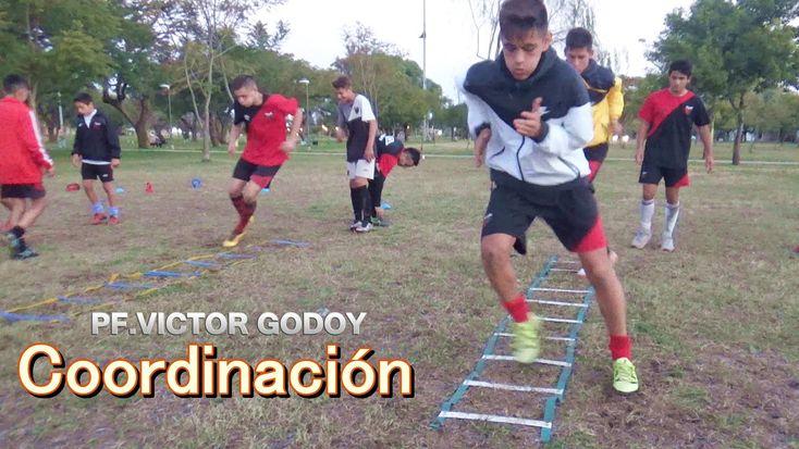Coordinación en Escalera para Futbol