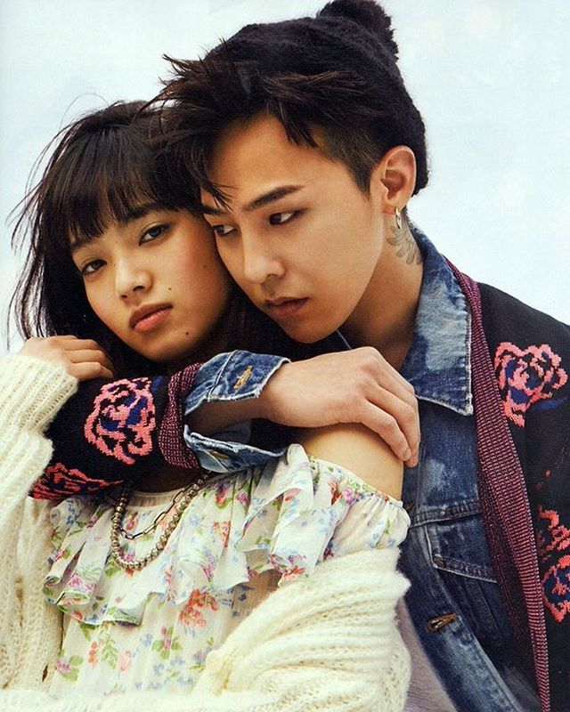 Nylon Japan G-Dragon x Nana Komatsu #GDRAGON #GD #KWONJIYONG #NanaKomatsu ©AeuyTLin
