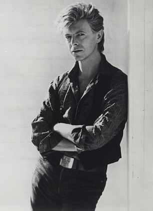David Bowie  Always one of my favorites! And I love this picture of him.